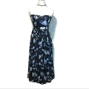 Intimately Free People Strapless Floral Dress